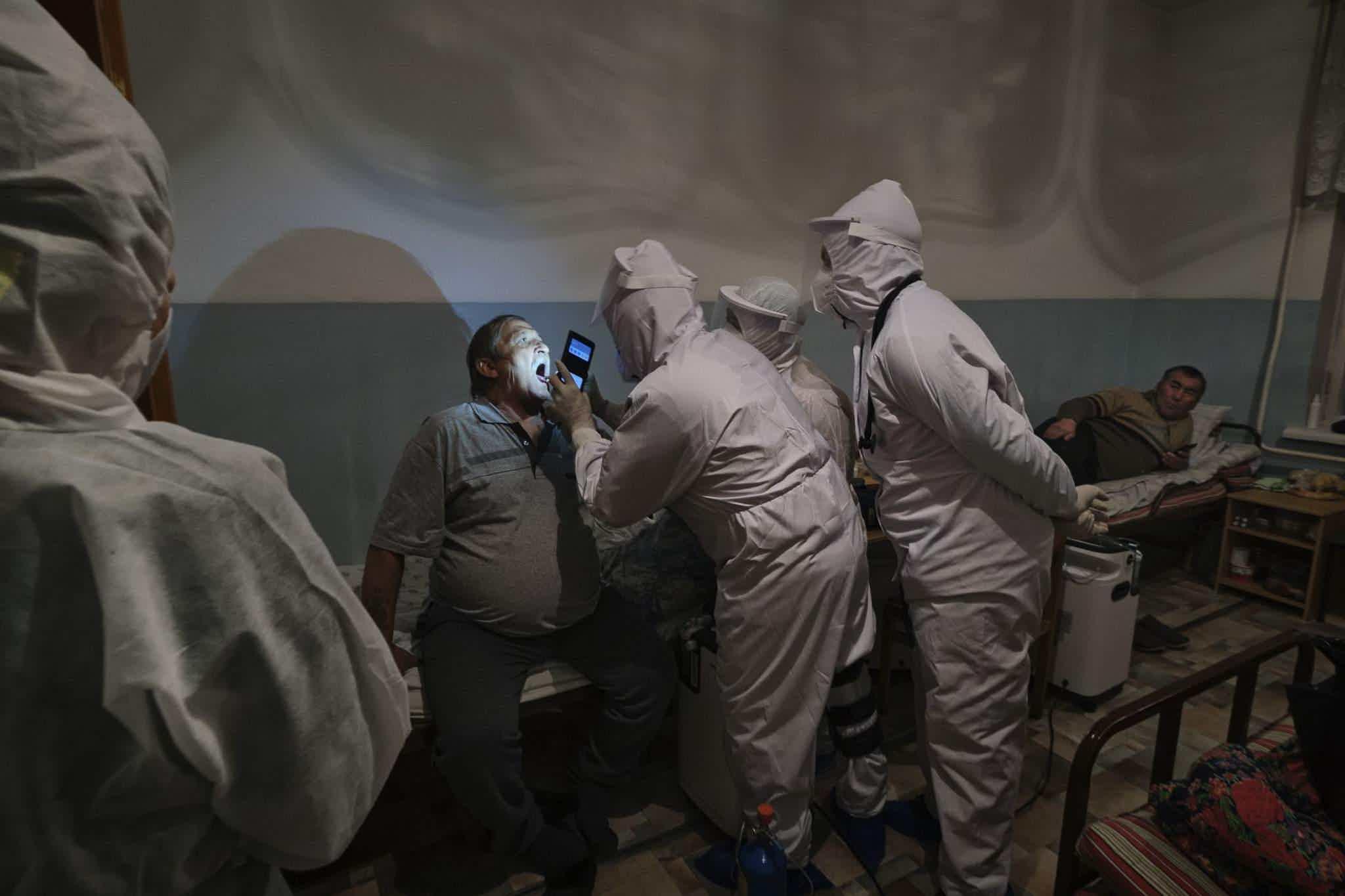 """Бишкекийн ковид"", International Photography Awards/Alain Schroeder"